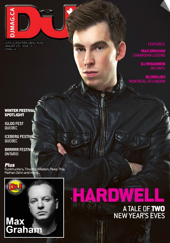 DJ Mag Cover